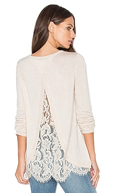 Marianna Sweater in Heather Antique White