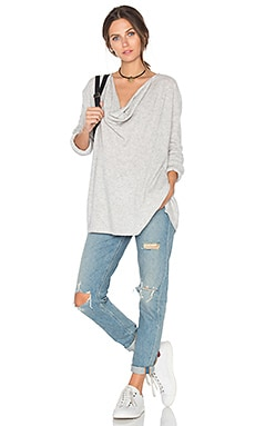 Talin Sweater in Light Heather Grey