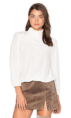 Lively Silk Blouse in Porcelain