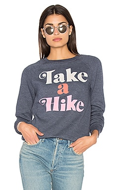 Take A Hike Sweater in Cosmic