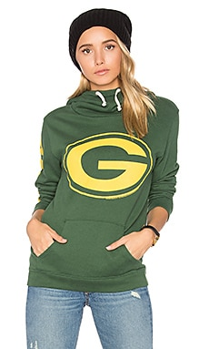 Green Bay Packers Hoodie in Hunter