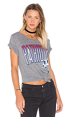 Patriots Tee in Steel