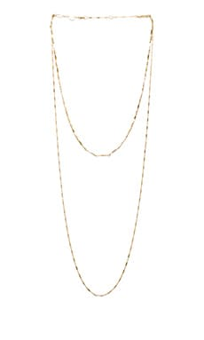 Asturia Double Necklace in Yellow