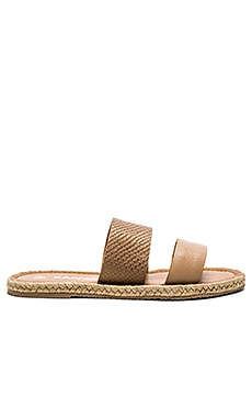 Haiti Two Strap Sandal in Coffee