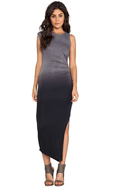 Penny Dress in Black Ombre