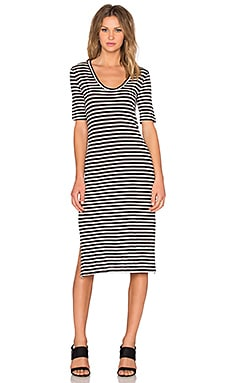 Moby Dress in Black & White