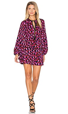 Titti Print Mini Dress in Multi Stone