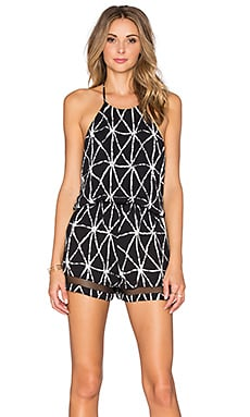 Napa Romper in Black Prag