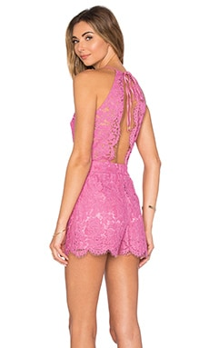 Naira Romper in Rose