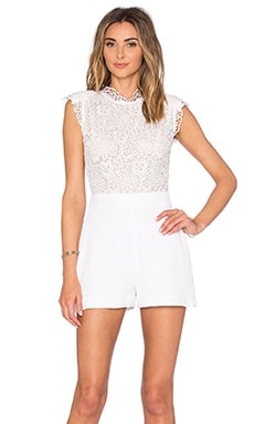 Lari Romper in White