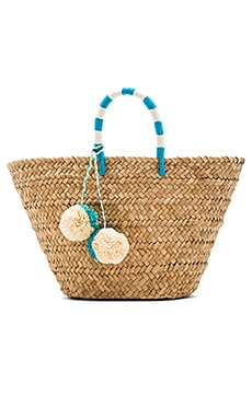 St Tropez Tote Bag in Turquoise