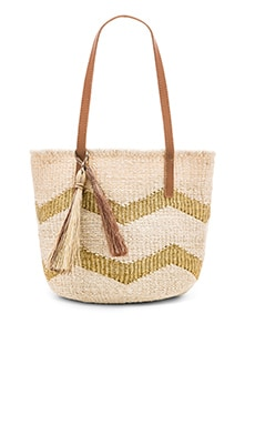 Chevy Small Tote Bag in Gold