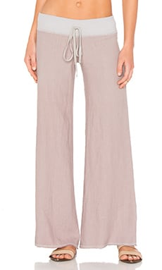 Wide Leg Pant in Cobblestone