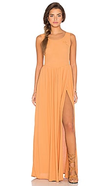 Full Moon Dress in Almost Apricot