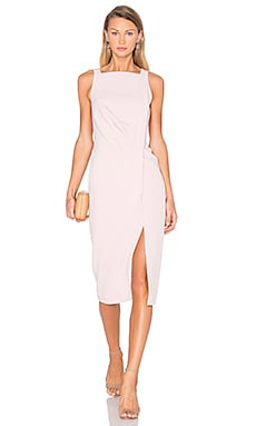 Come Apart Dress in Peach