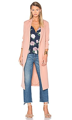 Chain Reaction Coat in Rose