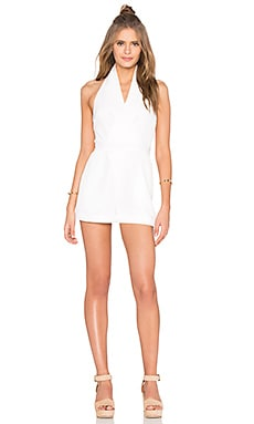 White Shadows Playsuit in Ivory