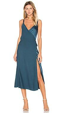 Las Palmas Dress in Feather