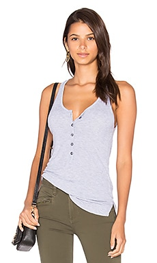 Lily Tank in Heather Grey