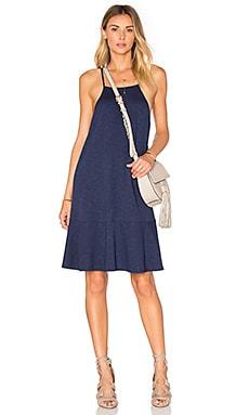 Drop Flare Mini Dress in Mystic