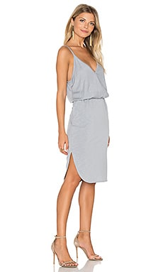 Surplice Cami Dress in Oyster