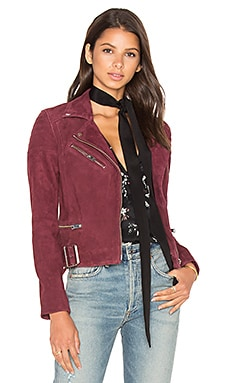 Laetica Jacket in Burgundy