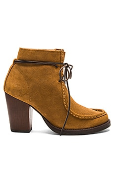 Frieda Booties in Cognac