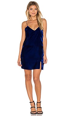 Natalie Slip Dress in Cobalt Blue
