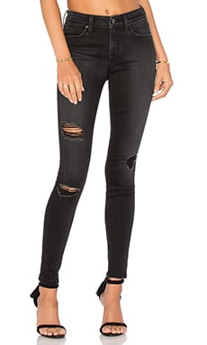 Janice Mid Rise Skinny in Mink