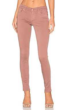 Liza 5 Pocket Skinny in Rose Bud