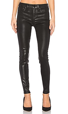 Janice Ultra Skinny in Black Coated