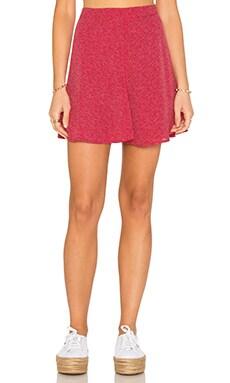 Polka Dot Skirt in Red