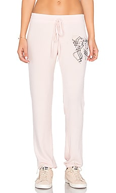 Willow Sweatpant in Pink Champage