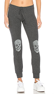 Kizzy Heart Skull Classic Sweatpant in Black