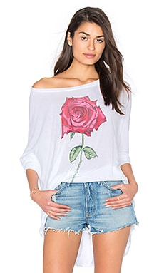 Kayla Long Sleeve Top in White
