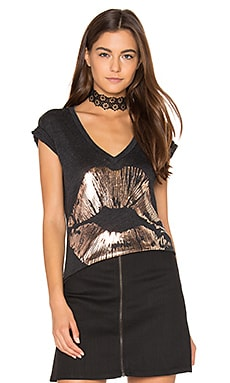 Emmalyn Tee in Black Burnout