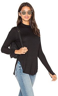 Devon Thermal Top in Black