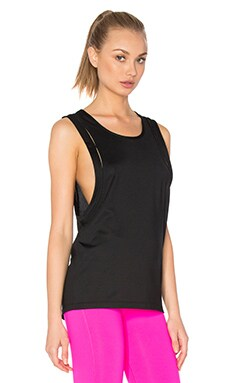 Karlee Active Run Tank in Black