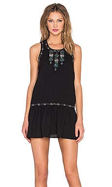 I Heart Babydoll Dress in Black