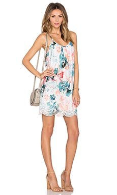 Fly Away Mini Dress in Paradise Floral