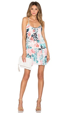 Beau Mini Dress in Paradise Floral