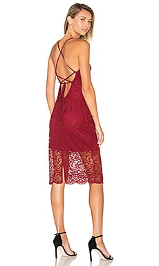 Romance Me Dress in Cranberry