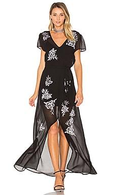 Sea Goddess Dress in Black