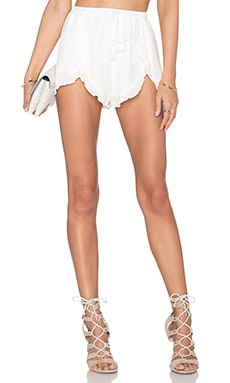 Serene Shorts in Ivory