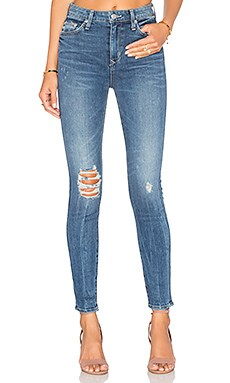 Mason High-Rise Skinny Jean in Larchmont