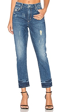 Logan High-Rise Tapered Jean in Grove