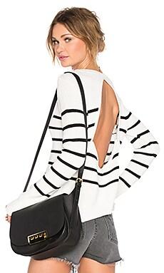 Bright Sea Sweater in Black Stripe
