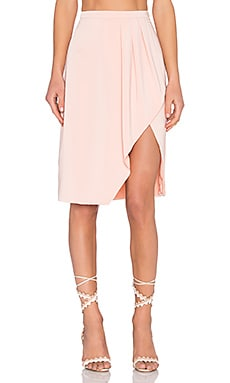 x REVOLVE Coquette Skirt in Blush