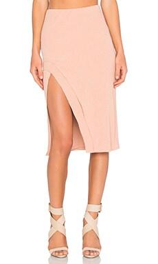 x REVOLVE Kelsey Skirt in Beige