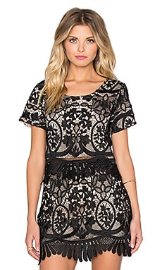 x REVOLVE Daycation Crop Top in Black
